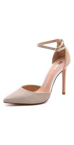 Schutz Irma Ankle Strap Pumps- Very classy and goes with everything- from Shopbop