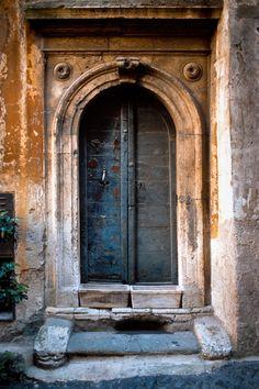 Ancient Doorway, Rome, Italy
