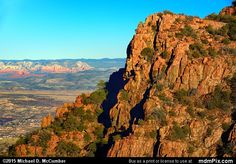 Hull Canyon Picture 027 - February 13, 2015 from Jerome, Arizona Picture