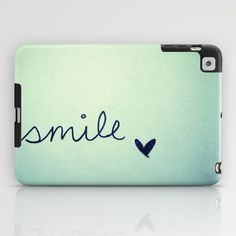 Cool tech accessories: Smile iPad Mini Case by RubyBird at Society 6