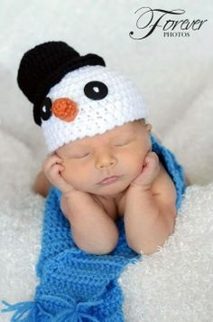 BBB Crochet Snowman Pattern.