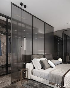 Modern Luxury Bedroom, Master Bedroom Interior, Luxury Bedroom Design, Master Bedroom Design, Luxurious Bedrooms, Home Decor Bedroom, Interior Design, Hotel Room Design, Bedroom Layouts