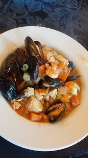Minter's Dining Around The World....  Acadian seafood stew: http://www.novascotia.com/eat-drink/recipes/acadian-seafood-stew