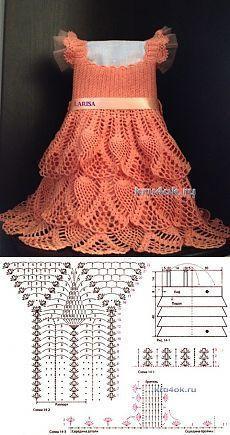 Crochet Summer Dress For Toddler inside Dress Fashion 2018 In Pakistan Crochet Dress Girl, Crochet Baby Dress Pattern, Baby Dress Patterns, Crochet Girls, Crochet Baby Clothes, Crochet For Kids, Crochet Summer, Baby Knitting Patterns, Crochet Patterns