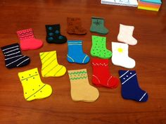 heytherelibrary: Matching Socks Game