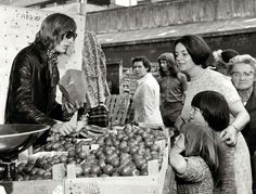 The Bull Ring market in the sixties