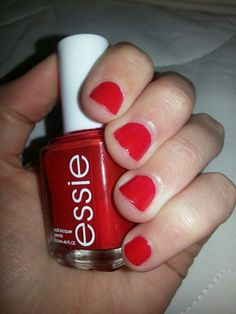 Essie - Russian Roulette. I love this one, it reminds me of Christmas, I like to wear this on my toes.