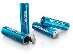 AquaCell : La pile écologique chargeable à l'eau en 5 minutes