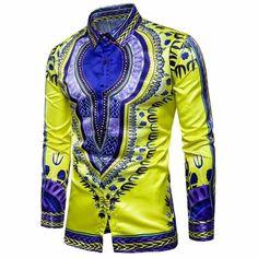 b8b7e4de39b7 African Dashiki Graphic Shirt. Collar ShirtsTee ShirtsLoose ShirtsPrinted ShirtsDress  ShirtsMale DressMen s VintageMen SummerDashiki