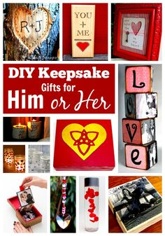 DIY Keepsake Gifts f