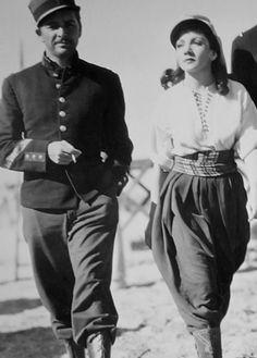 Ronald Colman, Claudette Colbert.  1936.