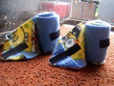Tutorial: Fleece Polo Wraps (big pictures sorry!) - The Horse Forum