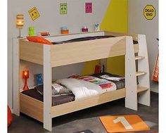 Parisot UK Kido Bunkbed This great value bunk bed from Parisot comes in a smart Baltimore Oak and White finish to fit with any bedroom decor. The ladder has solid wide steps for sure access to the top bunk. Parisot give a f http://www.comparestoreprices.co.uk/bunk-beds/parisot-uk-kido-bunkbed.asp
