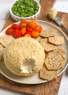 Paleo Vegan Cheese Ball - Real Food with Jessica Cheese Ball, Vegan Cheese, Real Food Recipes, Dairy Free, Paleo, Gluten, No Dairy, Paleo Food