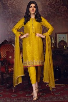 Making Luxury-Festive Outfits With Zaaviay Arzish Collection Pakistani Party Wear Dresses, Beautiful Pakistani Dresses, Shadi Dresses, Designer Party Wear Dresses, Pakistani Dress Design, Indian Designer Outfits, Latest Pakistani Dresses, Indian Dresses, Party Dresses