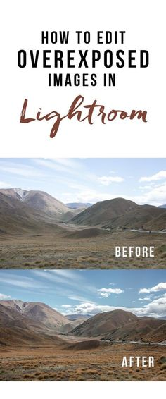 How to Edit Overexposed Images in Lightroom | Here & Air