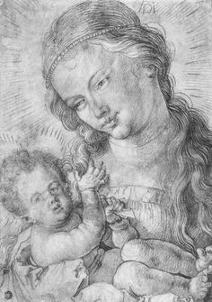 Dürer, Albrecht: Maria mit Kind in Halbfigur (Madonna with Child), um 1519