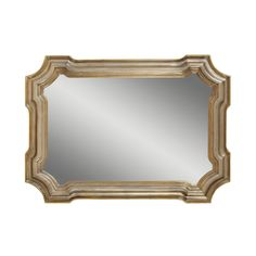 Bassett Mirror Company Angelica Mirror In Silver/gold - This beautiful take on the classic Venetian mirror is a touch of old world charm. The rectangular mirror is crafted with a plate to ensure a crystal-clear image. Decor, Mirror Decor, Gold Mirror, Gold Mirror Wall, Bassett Mirror, Lamps Plus, Traditional Wall Mirrors, Silver Mirrors, Traditional Mirrors