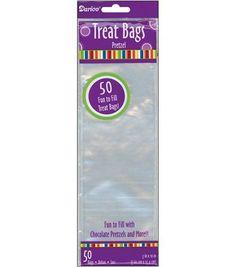 3''x10'' Treat Bags-50PK/Clear