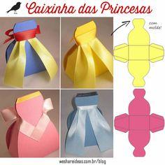 5 diys para festas princesas