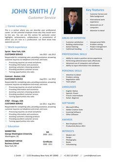 FUNCTIONAL Resume Template - Trendy Resumes
