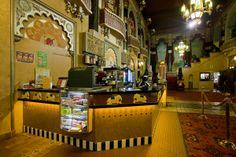 The lobby of Milwaukee's Oriental Theater