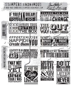 Heart Unmounted Rubber Stamp Bold Graphic Design Stamping Cardmaking Shrink Art