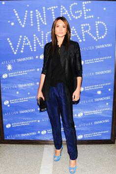 Zani Gugelmann celebrates Vintage Vanguard.