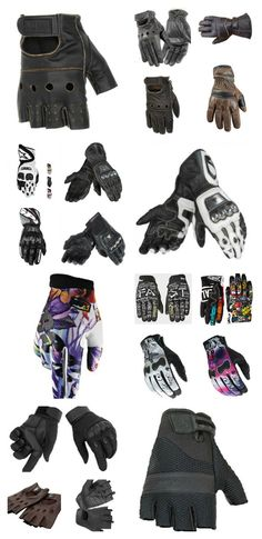 Finding the right motorcycle gloves can make all the difference in the world when you are out for a relaxing ride, stunt show, or in cold/rainy weather. Biker Gloves, Biker Gear, Motorcycle Gloves, Motorcycle Accessories, Leather Gloves, Motorcycle Travel, New Motorcycles, Sewing Material, What To Wear