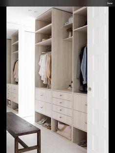 Farm Bedroom, Mcm House, Bedroom With Ensuite, Master Bedroom, Melbourne House, Home Organisation, Wardrobe Storage, Extra Rooms, Cupboard Storage