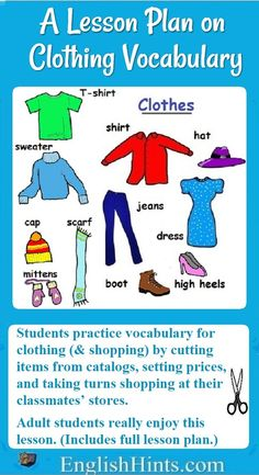 Online Clothing Store Vocabulary Clothing Pinterest Online Clothing Stores And School