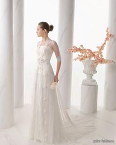 f584ae5c88 Rk bridal Alma Novia by Rosa Clara Spring 2014 Style Nacar