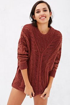 2)Ecote Madison Sweater - Urban Outfitters