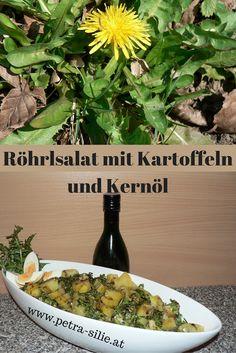 Röhrlsalat - ein Klassiker der Unkrautküche.  Die jungen Blätter des Löwenzahns, die dafür verwendet werden, haben schon längst Einzug in die moderne Küche gehalten - sei es die wildwachsende oder die gezüchtete (und meist auch gebleichte) Art, die bereits viele Gemüsehändler im Sortiment haben.
