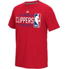 adidas Men's Los Angeles Clippers climalite Energy Stripe Red T-Shirt - Dick's Sporting Goods