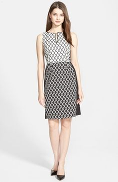 f47635b5ce I NY   CO. See more. Ellen Tracy Colorblock Diamond Jacquard Sheath Dress  (Regular  amp  Petite) available at