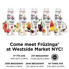 Hey Manhattan! We are so excited to be stocked up at #westsidemarket throughout…