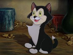 Figaro in Pinocchio 1940