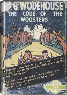 """themaninthegreenshirt:"""" """"Man and boy, Jeeves, I have been in some tough spots in my time, but this one wins the mottled oyster.""""P.G. Wodehouse, The Code of the Woosters"""""""