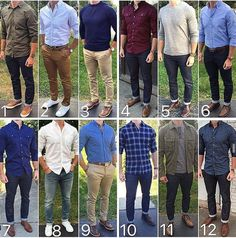 Here's a look back at the month of September. What was your favorite outfit or outfits of the month❓ THANKS for your amazing support❗️❗️❗️ Jean Outfits, Casual Outfits, Stylish Men, Men Casual, Casual Wear, Traje Casual, Mode Man, Elegantes Outfit, Herren Outfit