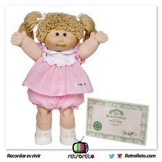 Chicas... ¿Recuerdan esta muñeca?