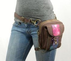Sassy Pack Canvas Holster Purse - can be worn 8 ways and keeps your firearm protected