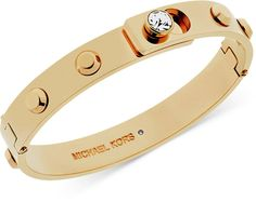Shop for Park Avenue rose gold-plated stone set bracelet by Michael Kors at ShopStyle. Mens Gold Bracelets, Bangle Bracelets, Bangles, Key Jewelry, Cute Jewelry, Silver Jewellery, Silver Ring, Jewlery, Gold Rings