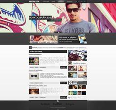 Stalker by ~Marciokun #webdesign #trends