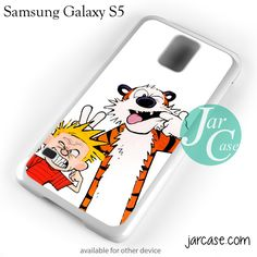 Bff Calvin And Hobbes Phone case for samsung galaxy S3/S4/S5