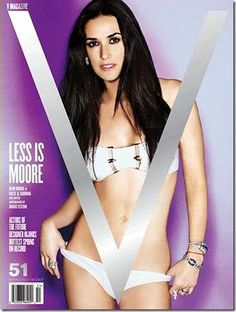 Demi Moore 53 on The hottest women over the 25+ or 40+ or 50+ or 65+ collections of the Grey Grizzled Monarch