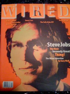 Steve Jobs on WIRED