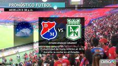 Esta es la probabilidad de lluvia para el partido entre el DIM vs Atlético Nacional  Por @Clima24_7