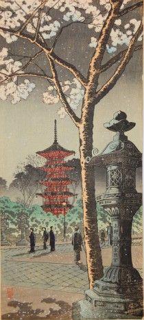 上野東照宮で桜