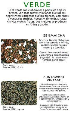 Té Verde (variedades)